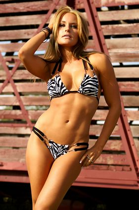 Jungle Open-Tri 2-Piece Hot Bikini