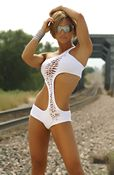 Shredded Swerve One-pc Swimsuit