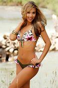 Ruffle Bandeau 2-Piece Hot Bikini