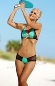 Sport Net Shorts Set Hot Bikini