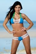 Sport Net Bandeaukini 2-Pc Swimsuit
