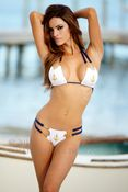 Nautical Scooped Chain Hot Bikini