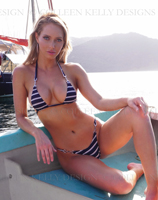 Nautical Strap-side Microkini